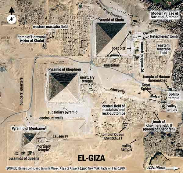 giza from satellite