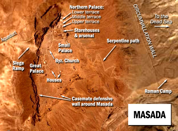 masada from satellite